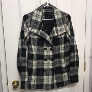 Hurley Plaid Winter Jacket